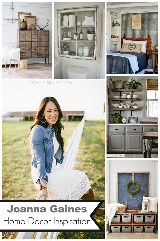 Joanna Gaines Home Decor Inspiration - Craft-O-Maniac