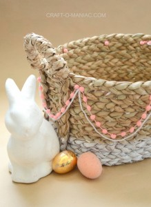 DIY Upcycled Easter Basket