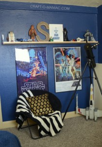 Teen Boy's Star Wars Room Part 1