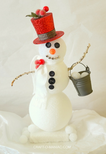 Frosty the Foam Ball Snowman