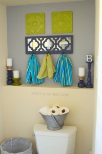 Small Bathroom Decor Makeover