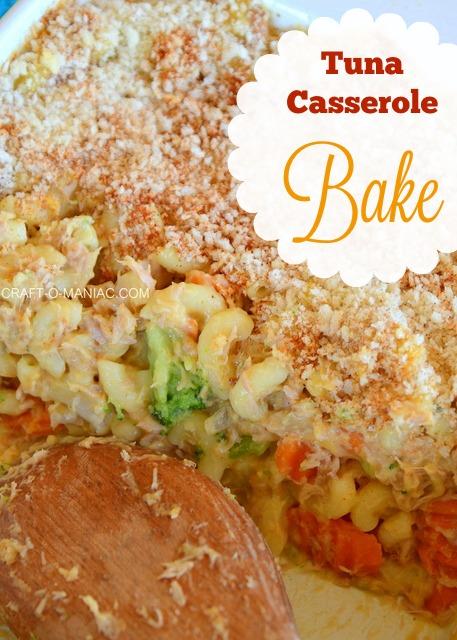 Tuna Casserole Bake