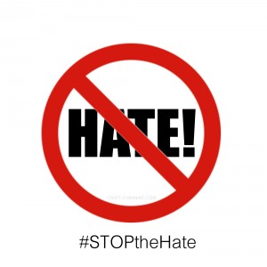 A world full of so much hate!