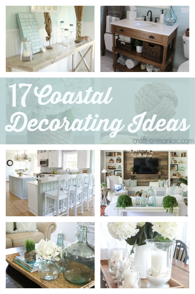 10 coastal decorating ideas craft o maniac - Home interior decoration ideas ...