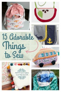 15 Adorable Things to Sew