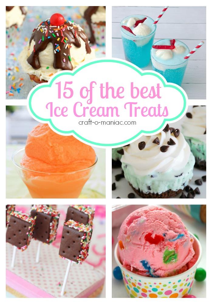 15 of The Best Ice Cream Treats