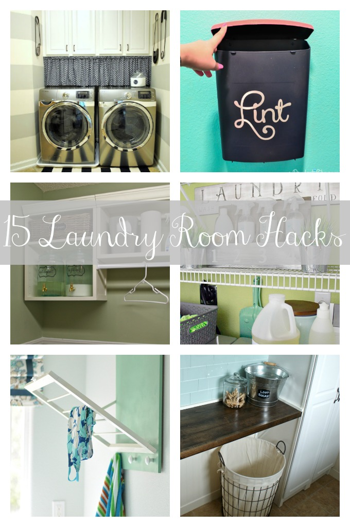 15 Laundry Room Hacks
