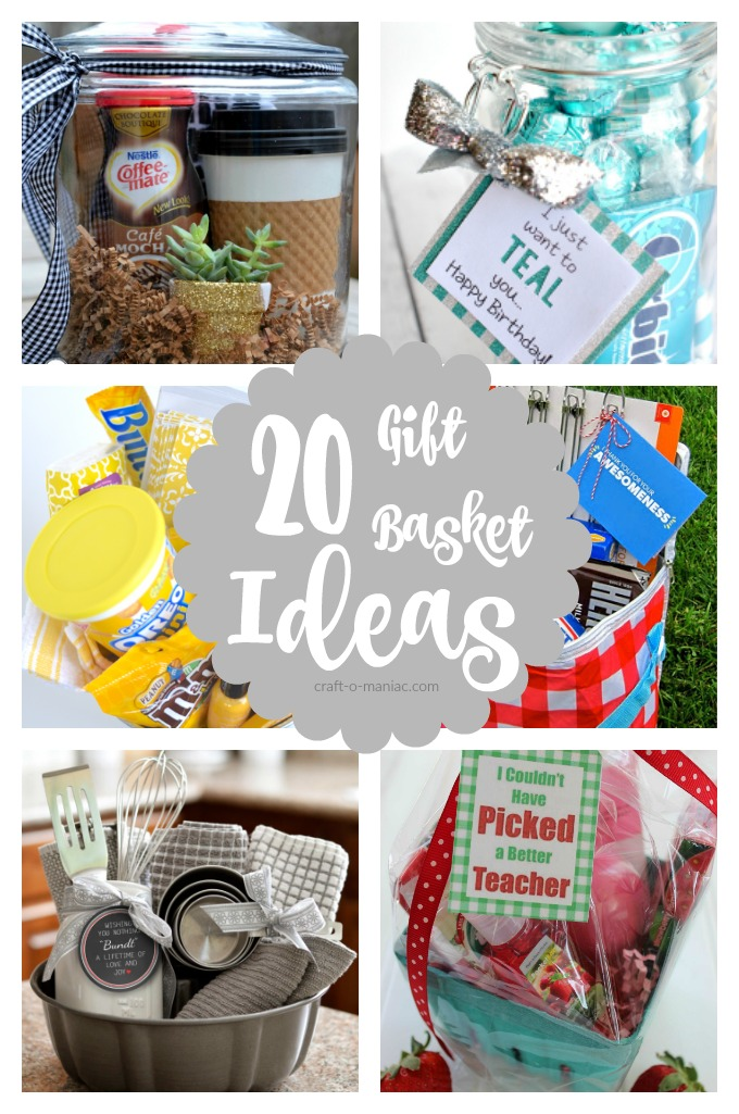 20 Gift Basket Ideas