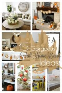 15 Gorgeous Fall Home Decor Ideas