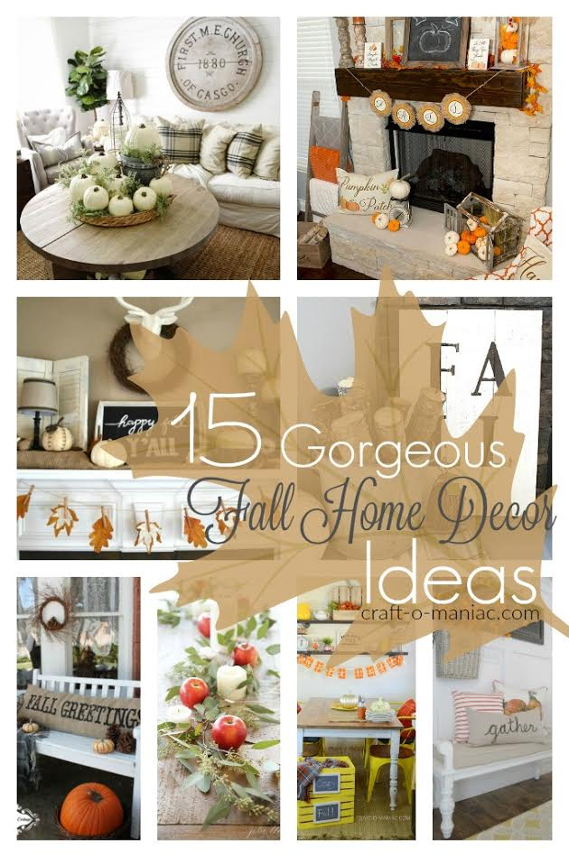 15 gorgeous fall home decor ideas - Fall Home Decor
