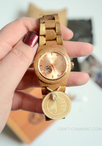 Rose Gold JORD Watch and Giveaway