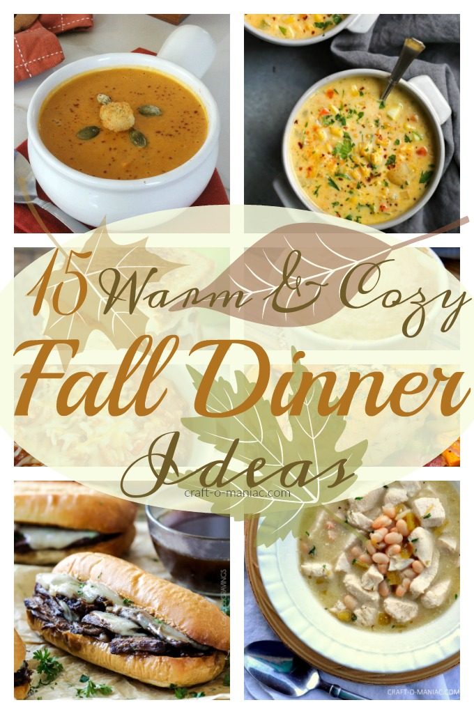 15 Warm & Cozy Dinner Ideas