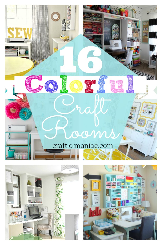 16 Colorful Craft Rooms