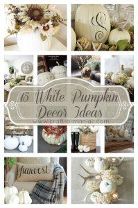 15 White Pumpkin Decor Ideas