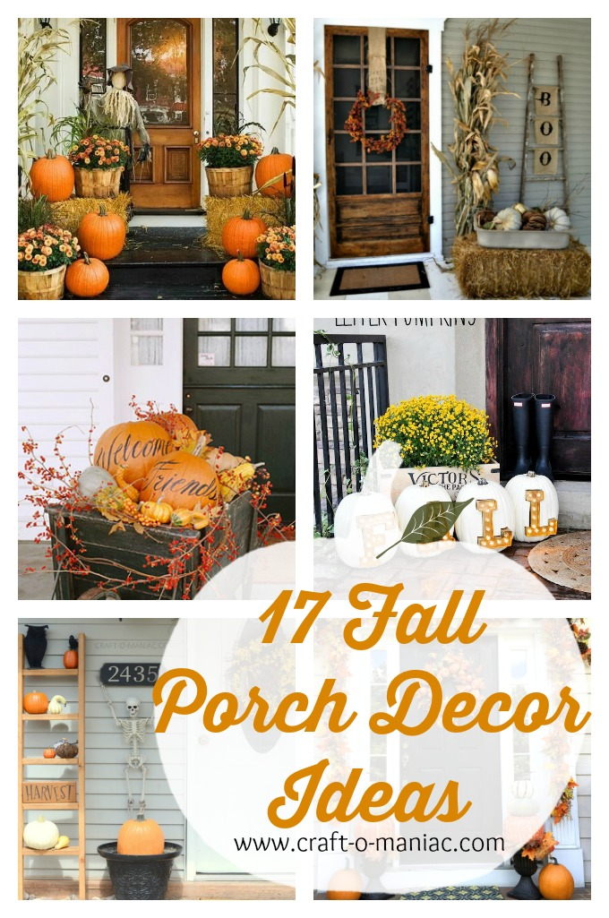 17 Fall Porch Decor Ideas