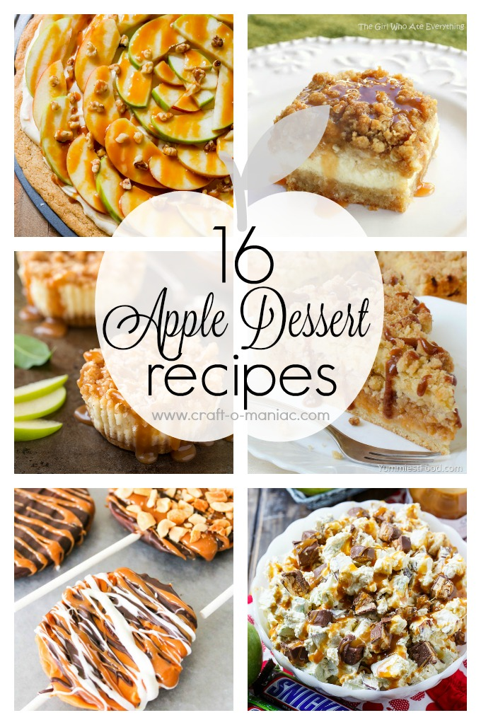 16 Apple Dessert Recipes