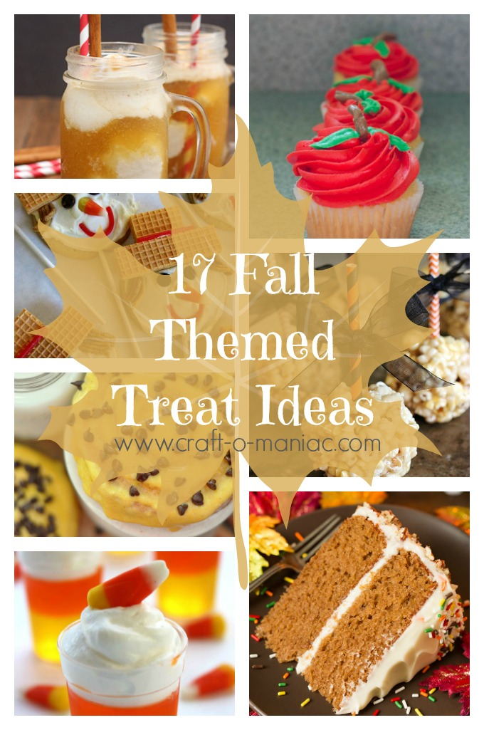 17 Fall Themed Treats Ideas Craft O Maniac