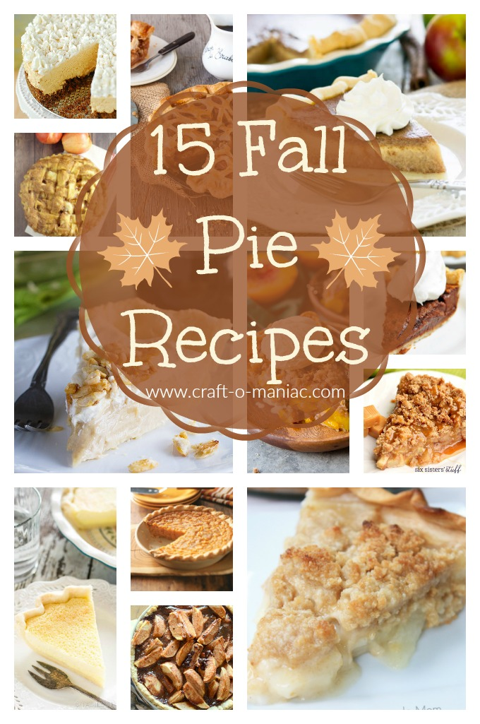 15 Fall Pie Recipes