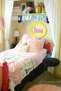 DIY| Put Your Tween's Bed in The Closet for More Room