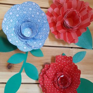 4th of July Paper Crafts Decor & Printables