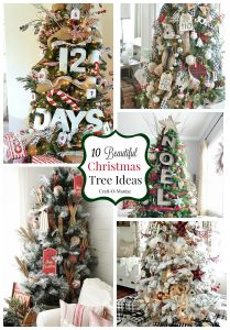 10 Beautiful Christmas Tree Ideas