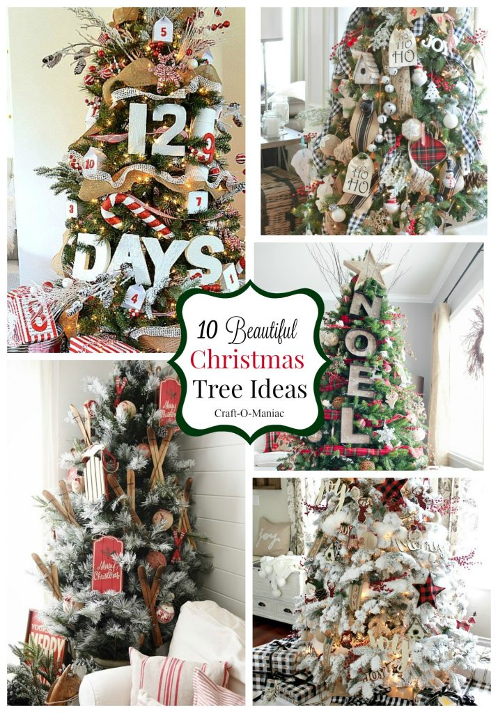 10 Beautiful Christmas Tree Ideas