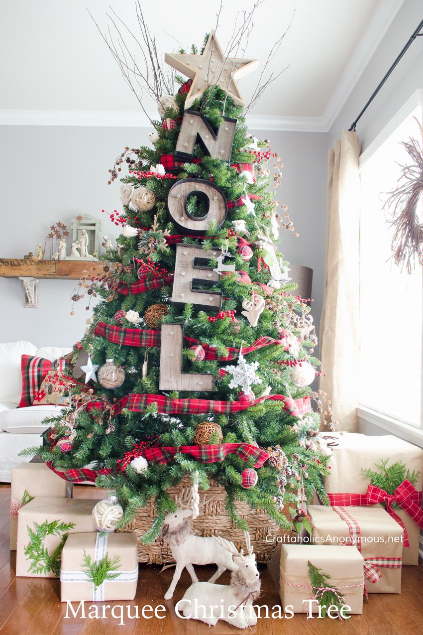 10 Beautiful Christmas Tree Ideas CraftOManiac