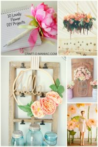 10 Lovely Flower DIY Projects