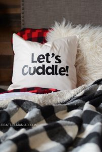 DIY Lets' Cuddle Pillow