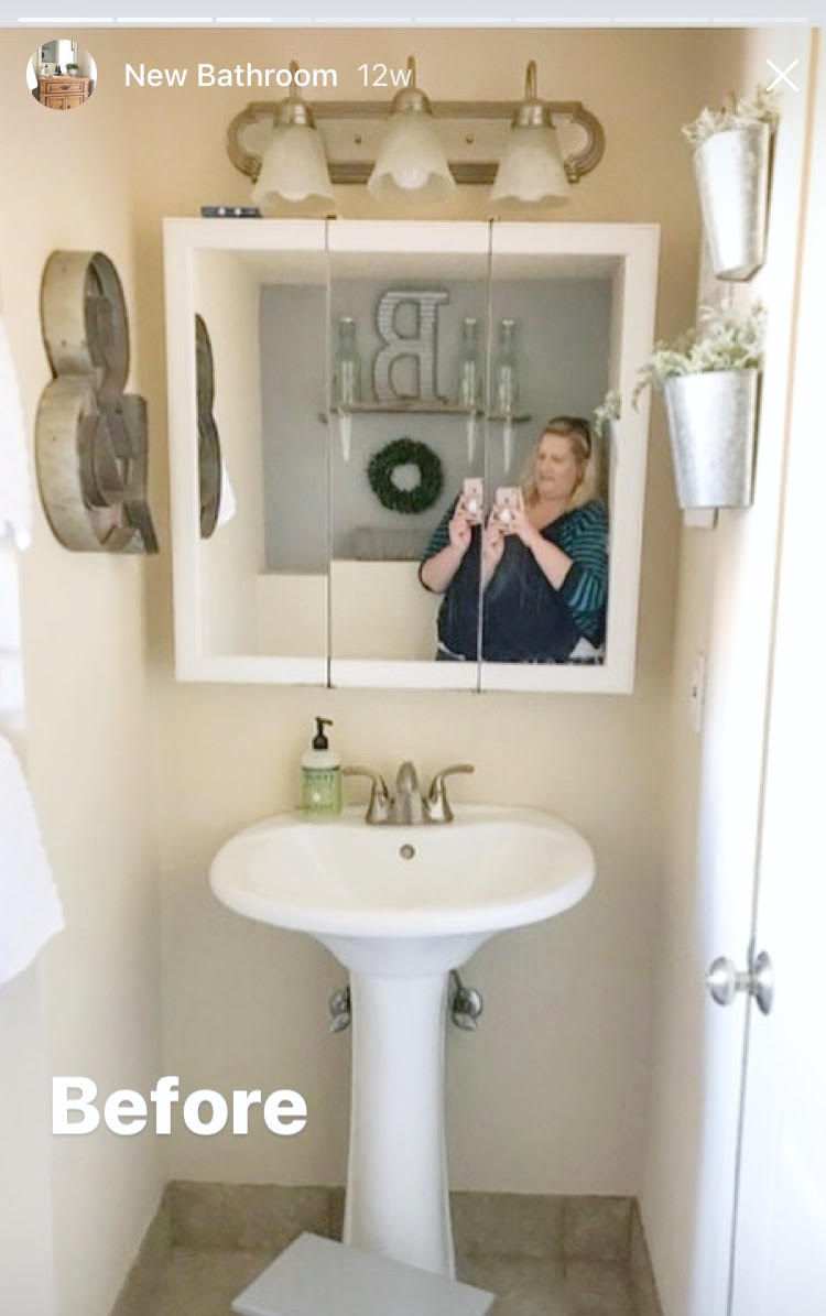 DIY Bathroom Vanity Plus Makeover - Craft-O-Maniac