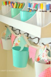 Cricut Maker Simple Fabric Bunting