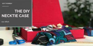 The DIY Necktie Glasses Case
