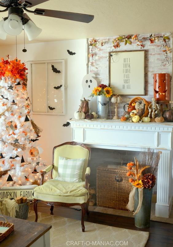 Halloween Decor Home Tour| 2018
