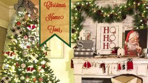Christmas Home Tour for 2018