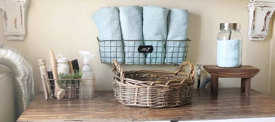 Laundry Room Decor and Helpful Tips