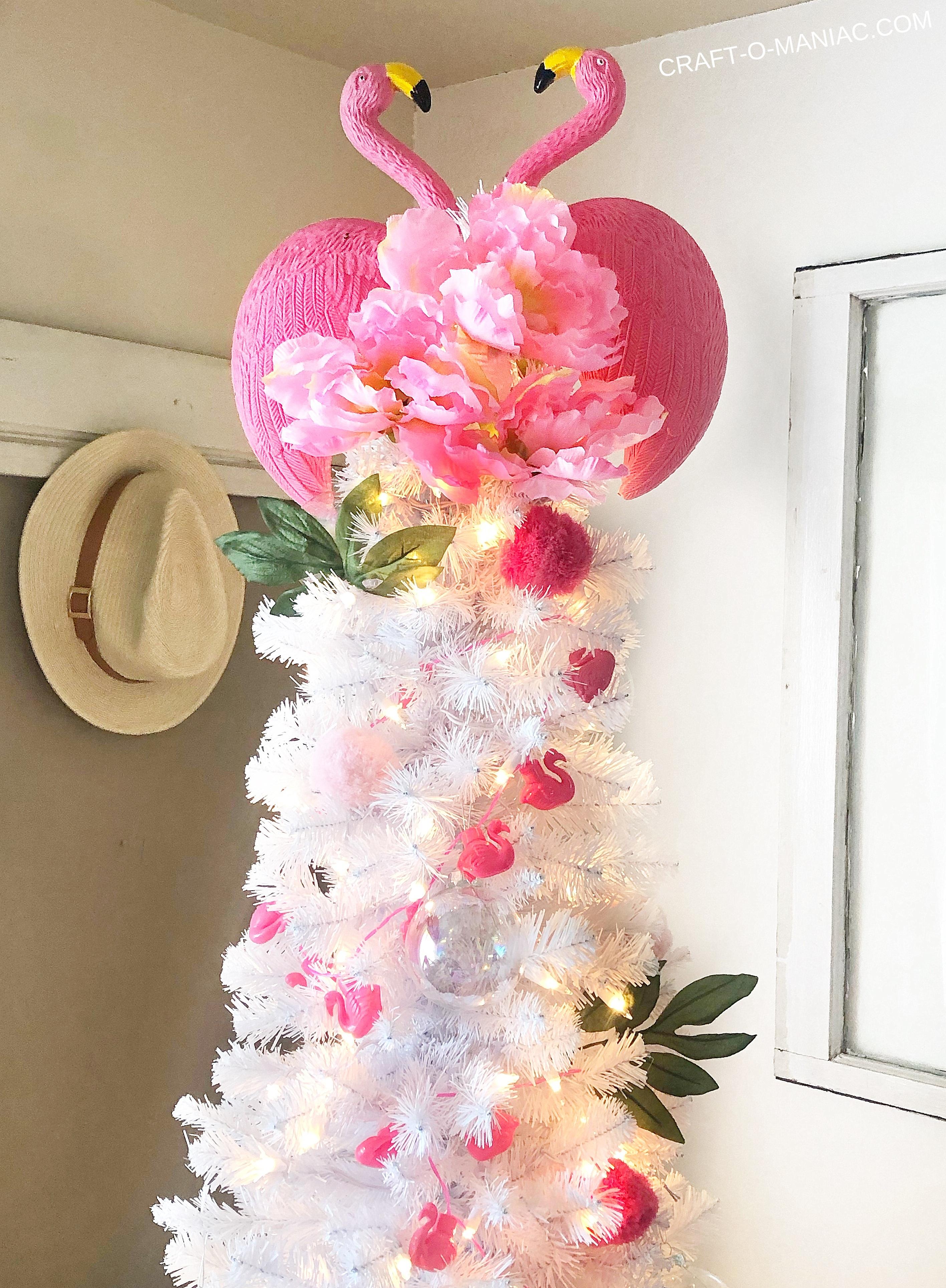 Christmas In July Treetopia Flamingo Tree Plus Giveaway