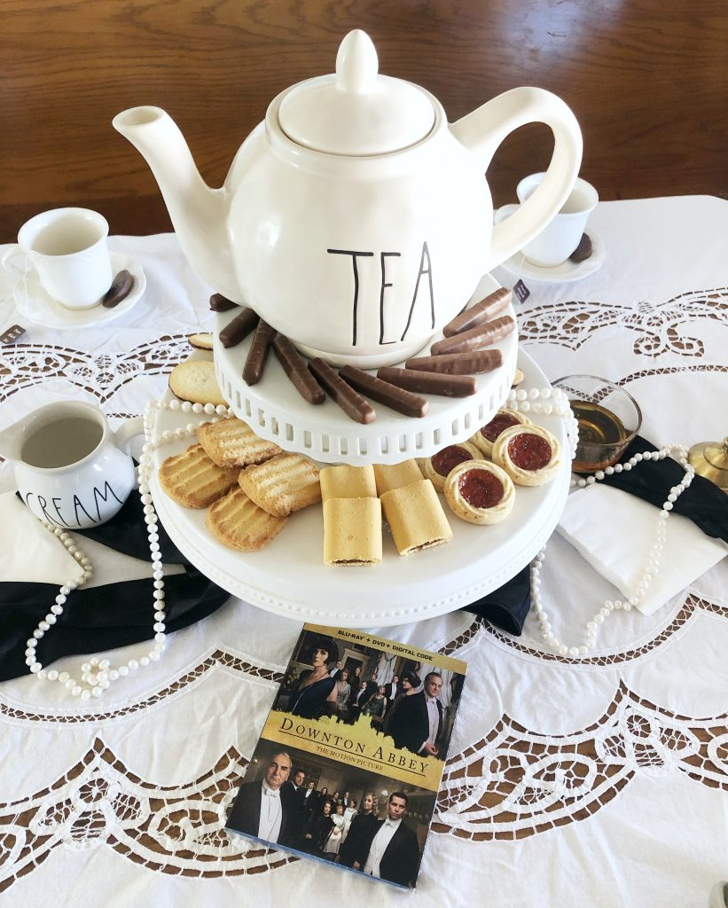 Downton Abbey Tea Party and DVD Viewing