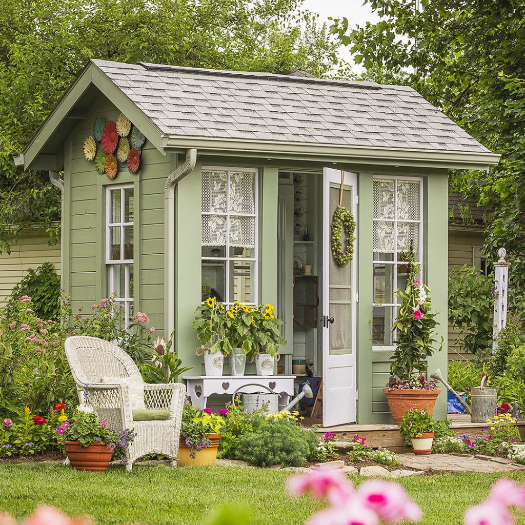 Instantly Transform Your Garden Storage Shed With These Top Ideas