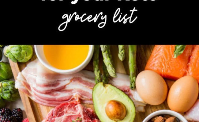 The Ultimate Grocery Shopping List For Your Keto Diet Plan